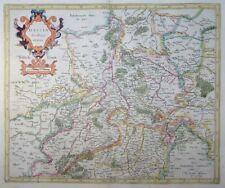 MERCATOR HONDIUS HASSIA LANDTGRAVIATUS HESSEN KASSEL GÖTTINGEN WALDECK 1627