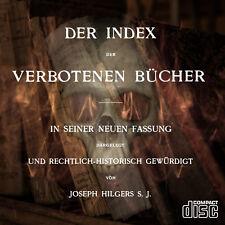 Índice de libros prohibidos índice librorum prohibitorum vaticano como PDF en CD