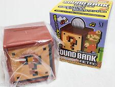 Super Mario Bros. Sound Bank Retro Question Block Figure JAPAN NES