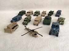 Masito Diecast GI Joe 14 Mixed Pieces Military Vehicle Set