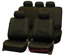 Toyota Corolla Verso - Luxury LEATHERETTE Car Seat Covers Protectors - Full Set