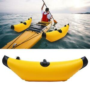 Durable Inflatable Kayak Outriggers Canoe Buoy Float Standing Water Stabilizer