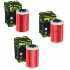 Hiflo Oil Filter 3 Pack KTM 250 400 450 520 525 EXC / 620 640 690 Duke