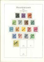 Top Berlin Sammlung 1948-1990 gestempelt - dabei viele Vollstempel - Ortsstempel