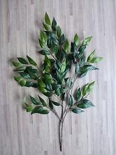 künstlicher Ficus Benjamini Zweig Seidenblume Kunstpflanze L 63 cm 186002-50 F43