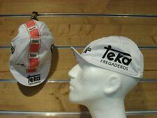 Rennrad Mütze Teka Assos Vintage Cycling Cap Teka fregaderos weiß ASSOS Mütze