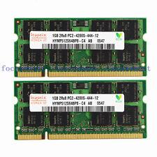 New Hynix 2GB 2X1GB PC2-4200 DDR2 DDR2-533MHZ 200pin Sodimm Laptop Memory