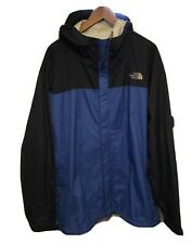 The North Face Blue Waterproof Jacket Coat Size XXL