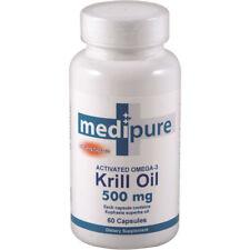 MediPure Wild Krill Oil 500mg 60 capsules