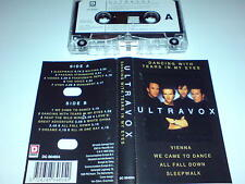 ULTRAVOX - DANCING WITH TEARS IN YOUR EYES - CASSETTE ALBUM