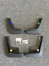 08-13 Chevrolet Impala Front & Rear Molded Splash Guard Package Black OEM GM