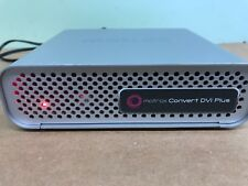 Matrox Convert DVI Plus HD-SDI Scan Converter , DVIPLUS With Power Supply