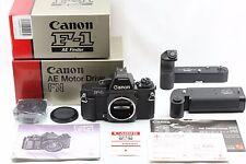 "*Super Rare Custom order * ""Unused Mint "" Canon New F-1 F1 + Ae Motor Drive Fn"