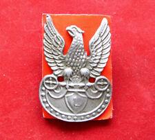 Polish jeager WHITE EAGLE BADGE - LEGION EAGLE OF Jozef PILSUDSKI 1919-1920 war