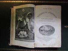 Capitaine HATTERAS - Jules VERNE - EO Hetzel 1867 - Rare