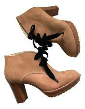 "Paul Smith  ""JORIL""  Sand coloured  Desert Boots Size  UK4 EU37"