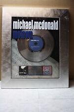 RIAA Platinum Sales Award michael mcdonald motown (Aluminum)