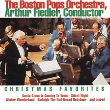 Audio CD Christmas Favorites - Arthur Fiedler and the Boston Pops Orchestra -