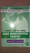 2002 Manchester Trophy Programme: Men's Tennis: ATP Tour