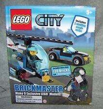 LEGO CITY 2011  BRICKMASTER SET MAKES 9 EXCLUSIVE CITY MODELS