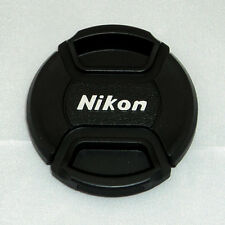 77mm Front Lens Cap Center Pinch Snap On For Nikon 17-55mm 24-70mm 70-200mm LC77