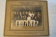 Vintage-1924-25 Victorian Cricket Team -Official Photo -Sheffield Shield Winners