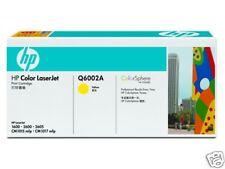TONER HP JAUNE Q6002A NEUF + 50% REMBOURSE / Q6002 Q600
