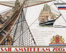 Thea Gouverneur  440  Sail 2005  Lin  Kit  Broderie  Point de Croix  Compté
