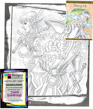 Breygent World of Fantasy Sketch Z-Card by Jake Sumbing