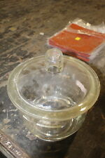 "GLASS VACUUM DESICCANT BELL JAR 12"" DIAMETER 8"" TALL"