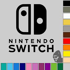 Nintendo Switch Logo! GLOSS or MATTE! Vinyl Decal Sticker Car, Van, Laptop!!
