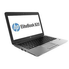 HP Elitebook 820 G1 i5-4300U 8GB 256GB SSD HD BT Win 10 Pro A-WARE #1