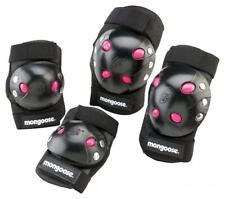 Mongoose BMX Bike Gel Knee and Elbow Pad Set Pink