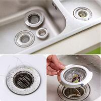 1Pc Kitchen Waste Stainless Steel Sink Strainer Plug Drain Stopper Filter Basket