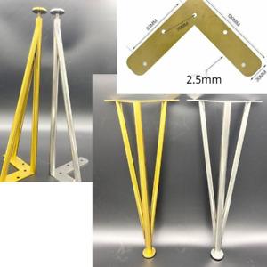 Furniture Cabinet Table Leg Hairpin Feet Adjustable Height Sofa Foot Leg 5 Sizes