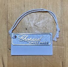 Happy Diamonds Sport Imperiale Oem Chopard Tag Hangtag Chronograph Mille Miglia