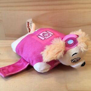 """PILLOW PETS """"Pink"""" Beautiful Kids Paw Patrol Miniature Cushion Plush Soft Toy"""