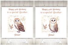 owl Daughter birthday Card BNIP