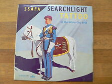 LP RECORD 10 INCH SSAFA SEARCHLIGHT TATTOO AT THE WHITY CITY 1958 HIS MASTERS