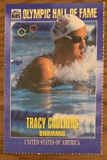 TRACY CAULKINS, RARE 1995 SPORTS ILLUSTRATED FOR KIDS CARD, SWIMMING STAR !