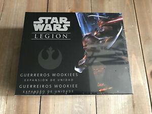 STAR WARS LEGIÓN - Guerreros Wookiees - Juego de miniaturas - Precintada FFG
