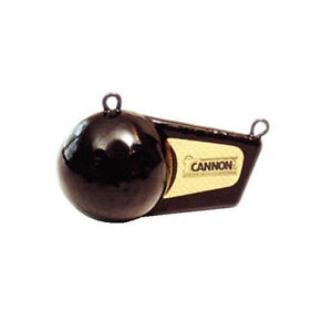 CANNON 8 lb. Black Flash Weight for Outrigger 2295182