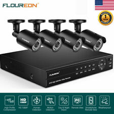 8Ch 1080P 6-in-1 Video Dvr Recorder Security 1080P Ip Camera System Night Vision