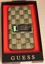 Premium Guess Book Case Cover Handytasche Jet Set iPhone 6 6S Schutzhülle green