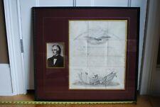 President Millard Fillmore 1850 Autograph Promotion Document Of Soldier