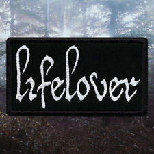 Lifelover | Embroidered Patch | Swedish Depressive / Suicidal Black Metal Band