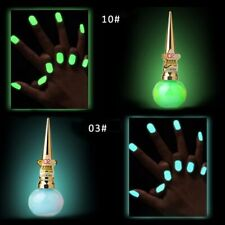 Glow in the Dark Paint Nail Polish  Nail Art Decoration Gel Nail Stamping