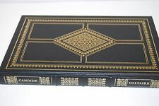 Candide, by Francois M. A. Voltaire. Franklin Library 1979