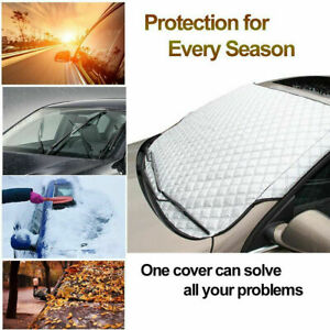 Universal Car Windshield Sun Shade Protector Winter Snow Rain Dust Frost Cover