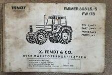 Tractor Fendt EHR III servicio manual de capacitación